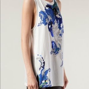 Stunning 3.1 Philip Lim embellished tank top NWT